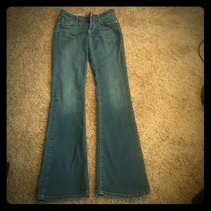 Womens Paige Jeans Size 27 Canyon Bootcut
